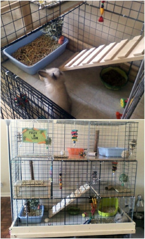 Simple DIY Rabbit Cage