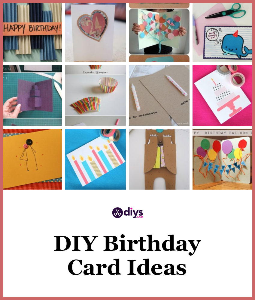 Birthday card ideas to make yourself