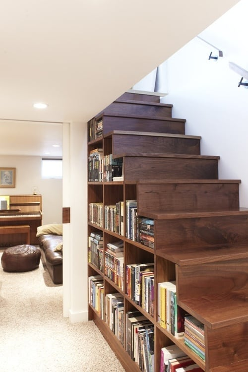 Multipurpose Wood Staircase