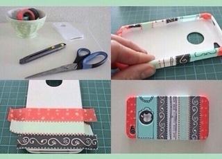 Как украсить чехол для телефона книжку: Как украсить чехол для телефона